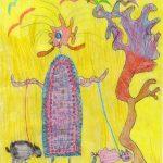 Hegyi Nikolett - Hullámos rajz